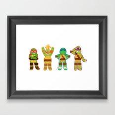 TMNT Happy-Happy Framed Art Print