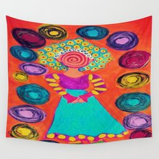 Spiralling Wall Tapestry