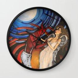 Heaven beside Me Wall Clock