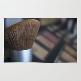 make up brush Rug