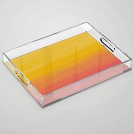 Italian Summer Acrylic Tray
