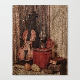 Passion violon Canvas Print