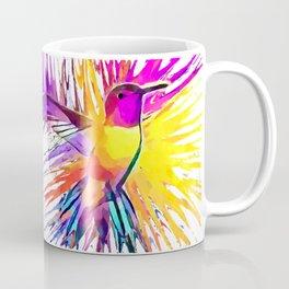 Hummingbird Watercolor Coffee Mug