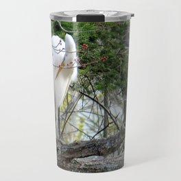 GREAT WHITE EGRET (4 OF 4) - BOWING Travel Mug