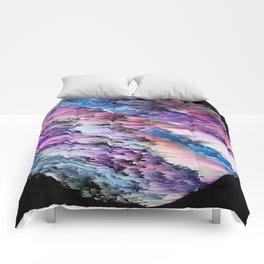 L A N D S C V P E S Comforters