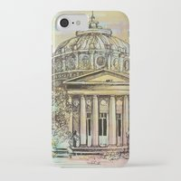 roman iPhone & iPod Cases featuring Ateneul Roman by Nechifor Ionut