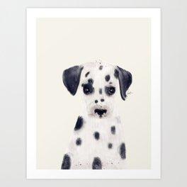 little dalmatian Art Print