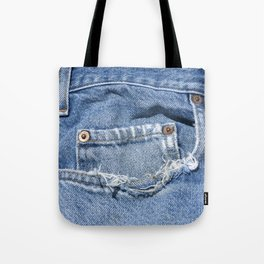 Old Jeans Tote Bag