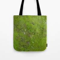 moss Tote Bags featuring Moss by aeolia