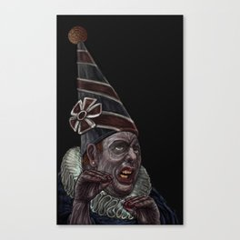 The endless chatering Canvas Print