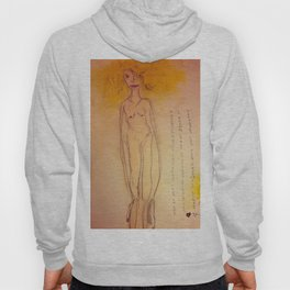 Lucille, The First Human Angel Hoody