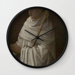 Jehan Bellegambe - Saint Bernard; Virgin and Child Wall Clock