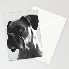 Boxer Graphic Stationery Cards