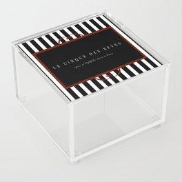 Night Circus Invitation Acrylic Box