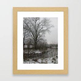Light Dusting Framed Art Print