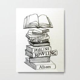 Authors Metal Print