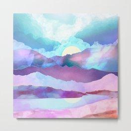 Opal Mountains Metal Print
