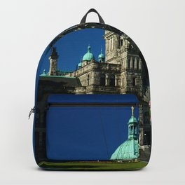 British Columbia Legislature Building Backpack