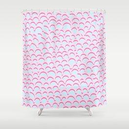 Noodle Doodle 80s Shower Curtain