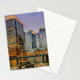 Boston Financial District Stationery Cards