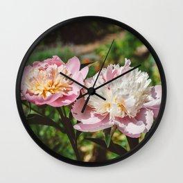 Manhattan Bloom III Wall Clock