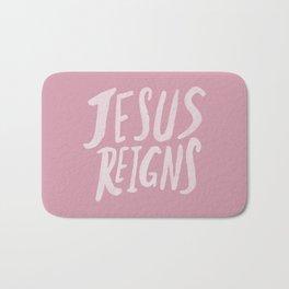 Jesus Reigns x Rose Bath Mat