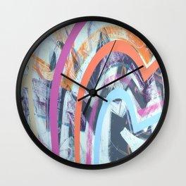 Soft & Wild Wall Clock