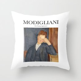 Modigliani - The Young Apprentice Throw Pillow