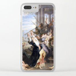 The Massacre of the Innocents - Rubens Clear iPhone Case