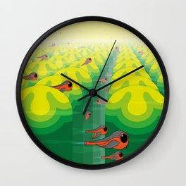 SF SolarBugs Wall Clock