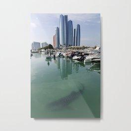 Abu Dhabi Whale Shark Metal Print