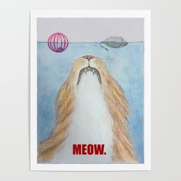 Meows. Poster
