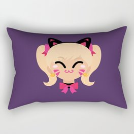 D.Va Cat Skin Rectangular Pillow