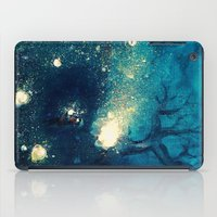 fireflies iPad Cases featuring Fireflies by Morgan Ofsharick - meoillustration