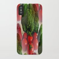 vegetables iPhone & iPod Cases featuring Healthy Vegetables by Art-Motiva