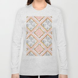 Gold and marble Long Sleeve T-shirt