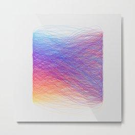 Hue Remix Rainbow Metal Print