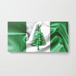 Norfolk Island Flag Metal Print