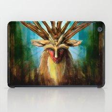 Princess Mononoke The Deer God Shishigami Tra Digital Painting. iPad Case