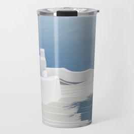 Santorini Stairs II (Landscape) Travel Mug