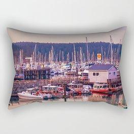 Boatscape Rectangular Pillow