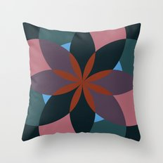 Douche Flower Throw Pillow