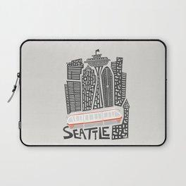 Seattle Cityscape Laptop Sleeve