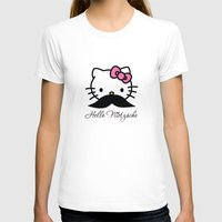 nietzsche T-shirts featuring Hello Nietzsche by elvisbr