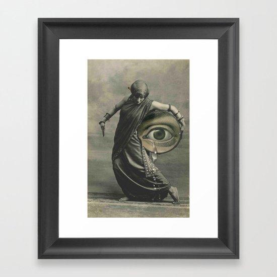 EYE CRY Framed Art Print