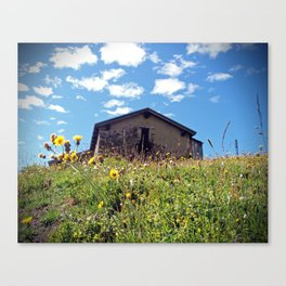 Abandoned Alps Canvas Print