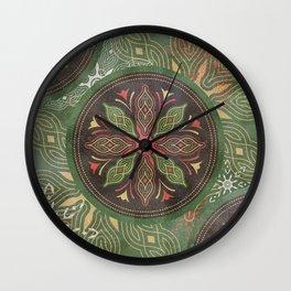 Floret_Flourish_SA_01a Wall Clock