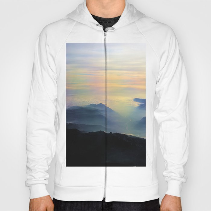 Over the Alps to Venice Hoody