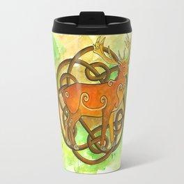 Celtic Stag Travel Mug