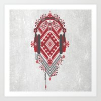 ethnic Art Prints featuring Ethnic by sophtunes